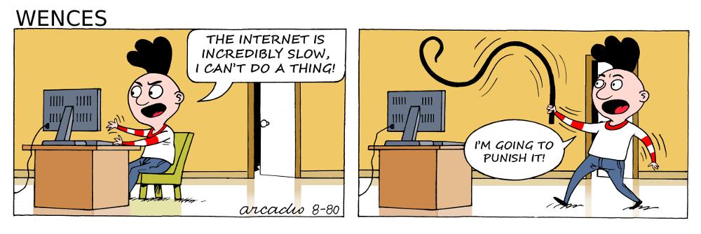 Bad internet.