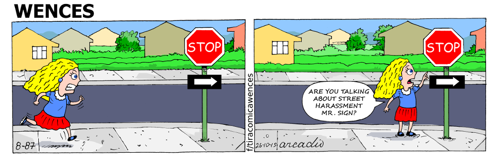 The stop signal.